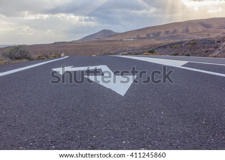road and road markings