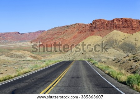 road at arches