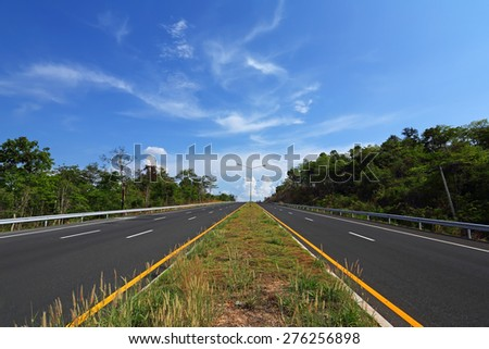 Road - Highway - stock photo