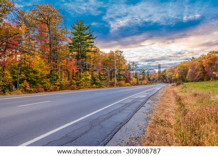 Road in New Hampshire