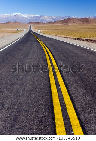 Road in North Argentina