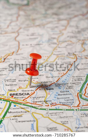 Map Of Brescia Stock Images RoyaltyFree Images Vectors