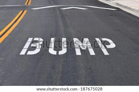 Road Marking - stock photo