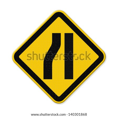 Lanes Merging Right Stock Photos, Royalty-Free Images & Vectors ...