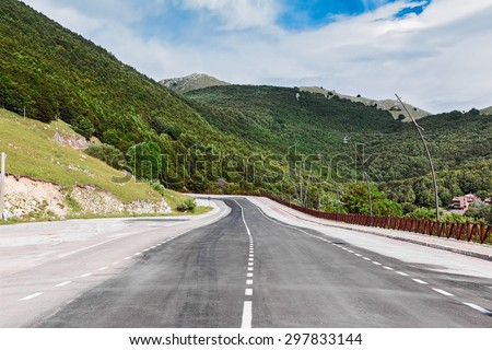 road of mountain