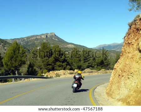 road rider - stock photo