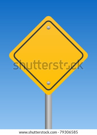 Road Sign - Warning