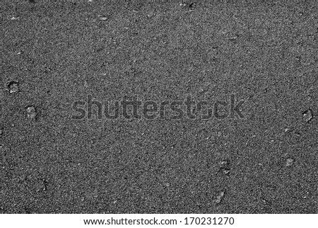 Road surface of the asphalt  - stock photo