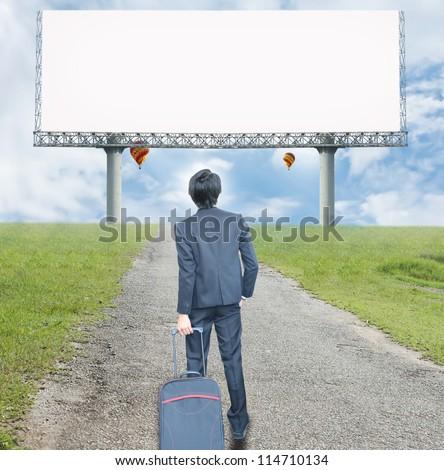 Road to future - stock photo