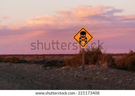 Road to Halloween - stock photo