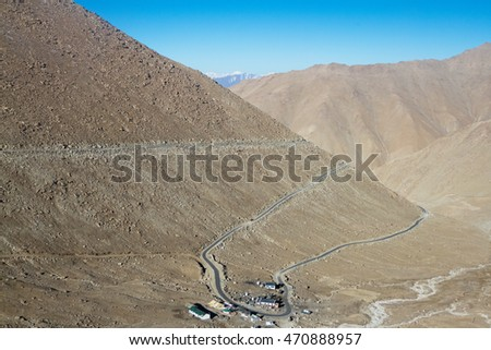 Road to Pangong TSO Lake
