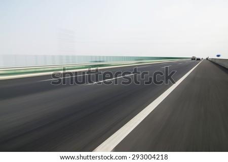 Road transport - stock photo