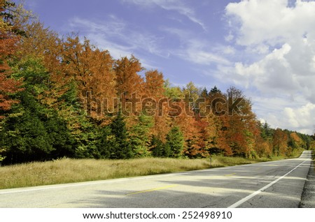 Road trip in colors