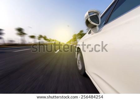 Road vehicles - stock photo