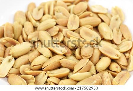 Roasted Peanut - stock photo