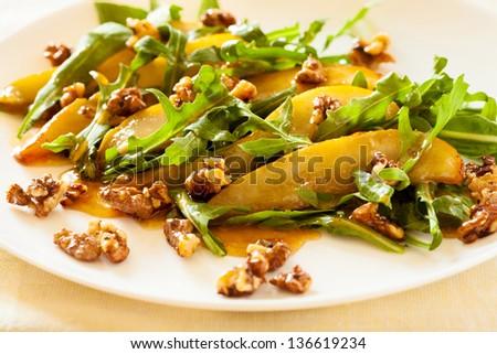 Roasted Pear, Gorgonzola, And Honey Toast Recipe — Dishmaps