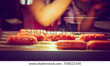 Roasted sausage