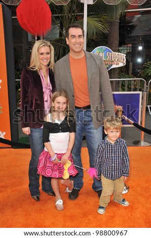 "Rob Riggle at the world premiere of his new movie ""Dr. Suess' The Lorax"" at Universal Studios, Hollywood. February 19, 2012  Los Angeles, CA Picture: Paul Smith / Featureflash"