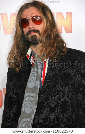 """Rob Zombie at the Los Angeles Premiere of """"Halloween"""". Grauman's Chinese Theatre, Hollywood, CA. 08-23-07 - stock photo"""