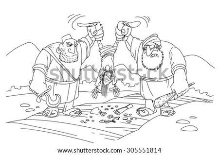 Robbers - stock photo