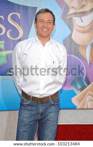 "Robert A. Iger  at the ""The Princess And The Frog"" World Premiere, Walt Disney Studios, Burbank, CA. 11-15-09 - stock photo"