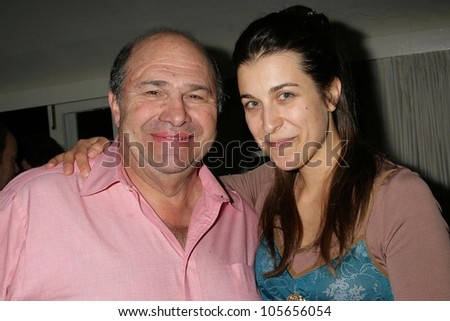 Robert Costanzo and Leah Yananton at a party hosted by Theatre 68 to Announce the John Patrick Shanley Festival. Private Residence, Beverly Hills, CA. 02-23-09