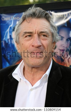 "Robert De Niro at the Los Angeles Premiere of ""Stardust"". Paramount Studio Theatre, Hollywood, CA. 07-29-07 - stock photo"