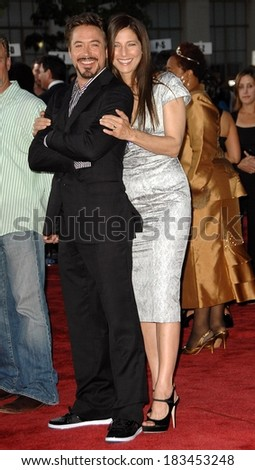 Robert Downey Jr, Catherine Keener at THE SOLOIST Premiere, Paramount Theatre, Los Angeles, CA April 20, 2009