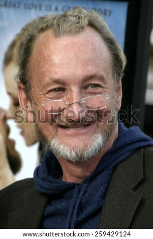 "Robert Englund at the ""The Notebook"" Los Angeles Premiere held at the Mann Village Theatre in Westwood, California United States on June 21 2004."