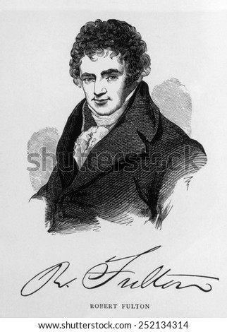 Robert Fulton (1765-1815) - stock photo