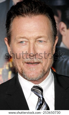 "Robert Patrick at the Los Angeles premiere of ""Gangster Squad"" held at the Grauman's Chinese Theatre in Los Angeles, California, United States on January 7, 2013.  - stock photo"