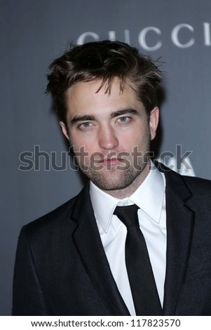 Robert Pattinson at the LACMA 2012 Art + Film Gala, LACMA, Los Angeles, CA 10-27-12