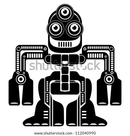 robot - stock photo