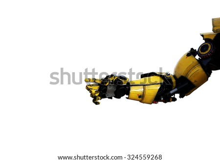 robot arm - stock photo