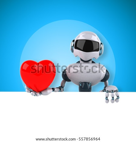Robot - 3D Illustration