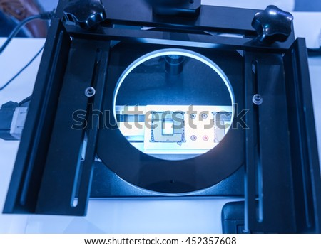 Robotic vision system - stock photo