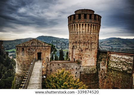Rocca Manfrediana in Brisighella, Italy