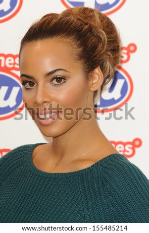 Rochelle Humes (The Saturdays) launches the new iPhone 5S and 5C at Phones 4U Oxford Street, London. 20/09/2013 - stock photo