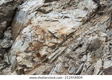 Rock background. Stone mountain - stock photo