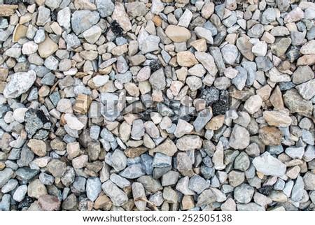 rock floor texture - stock photo