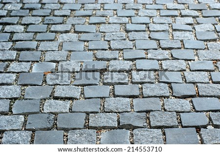 Rock footpath texture background