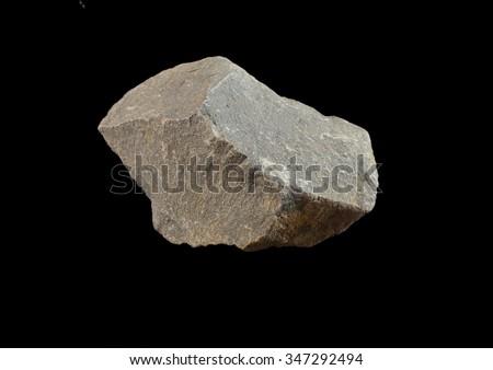 Rock formation Dolomite. Lower Devonian - stock photo