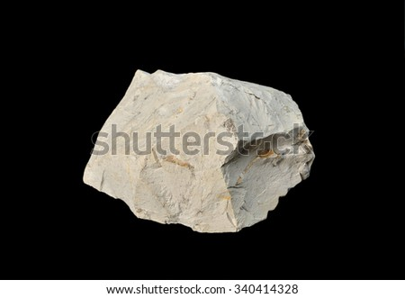 rock formation Marl - stock photo