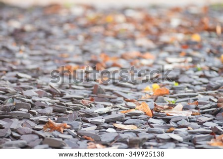 Rock gravel background