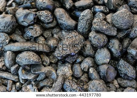 Rock Meteors. - stock photo