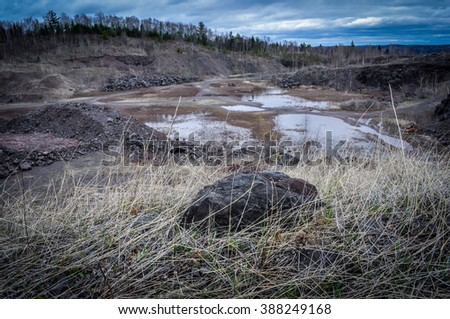 Stock photos royalty free images vectors shutterstock for Landscape rock quarry alberta