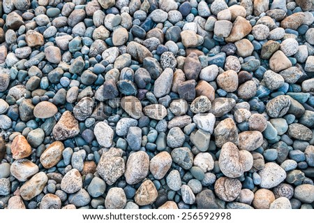 rock stone texture -  pebbles many natural hard strong surface