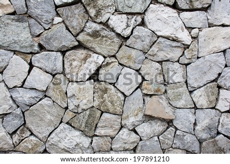 Rock Wall. Stone texture background.