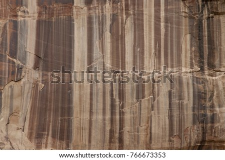 Rock Wall with vertical Stripes