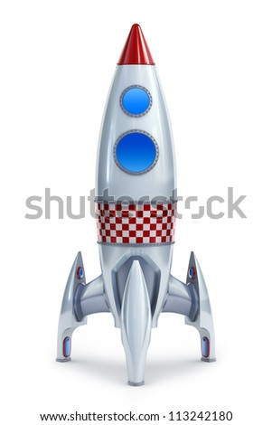 Rocket - stock photo